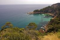 Along the Costa Brava coastline in Catalonia, Spain there are many private and secret coves that are ideal for a little down time.