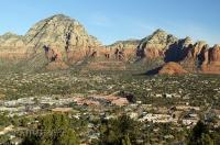 Sedona Butte Rock Formations Photo