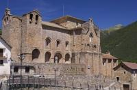 The San Pedro Church of Siresa has welcomed pilgrims throughout the centuries in the Valle de Hecho, Huesca in Aragon, Spain.