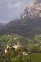 South Tyrol Presule Village Castle Italy