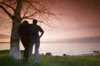 Simcoe Lake in Ontario has some stunning sunsets and makes for a perfect location for a romantic getaway.