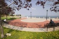 The wonderful summer time vacation destination is Burlington, Ontario which features the Spencer Smith Park and Waterfront Trail.