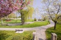 A great place to visit during a vacation is the Spencer Smith Park and Waterfront Trail situated in the heart of Burlington on the banks of Lake Ontario.