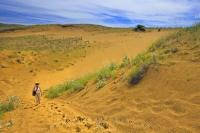 Situated in the Spruce Woods Provincial Park of Manitoba, Spirit Sands Trail takes the visitor on a journey through one of Canada's few areas of sand dunes.