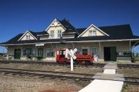 Stettler Town and the Country Museum is the fifth largest museum in Alberta, Canada.