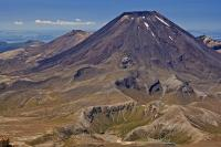 New Zealand is home to Mount Ngauruhoe which is a type of volcano known as a stratovolcano.