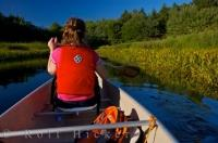 Summer Outdoor Recreation River Canoeing
