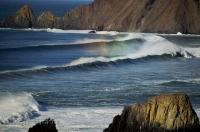 Pacific Ocean Surf Photo