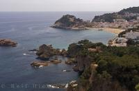 Tossa De Mar is a great vacation town located on the south part of the Costa Brava in Catalonia, Spain in Europe.