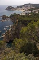 Tossa De Mar is a vacation resort situated along the rugged coastline of the Costa Brava in Catalonia, Spain in Europe.
