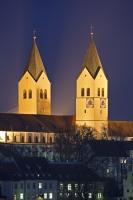 Towers Freisinger Dom Freising Bavaria Germany