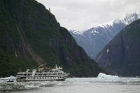 You will be surrounded by beauty when you visit Tracy Arm Fjord, Alaska and the glaciers within.