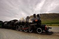 Kingston Flyer Steam Train Picture