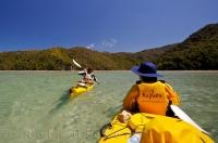 A prime travel destination on the South Island of New Zealand is the pristine Abel Tasman National Park.