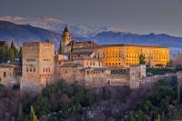 Travel Destination City Of Granada Andalusia Spain