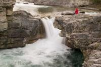 The Elbow Falls near Bragg Creek in Alberta is a great place to visit and should be included into any travel plans of the area.