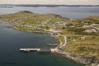 The sheltered harbour of Twillingate situated in the Kittiwake Coast of Newfoundland, Canada.