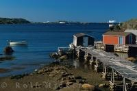 Twillingate Harbour Newfoundland Canada