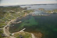 Aerial Photo of Twillingate in Newfoundland