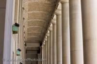 Columns Union Station Architecture Downtown Toronto Ontario
