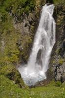 Waterfall Cascade De Sauth Deth Pish Pyrenees Val D Aran