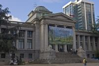 Situated in the heart of Vancouver City, the Vancouver Art Gallery is currently housed in the former Provincial Courthouse building.