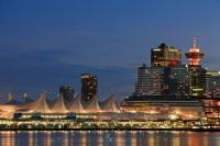 A cruise ship terminal, Canada Place is the cruise ship port in the city of Vancouver the largest city in British Columbia, Canada.