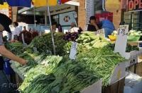 Each market along the streets of Chinatown in Toronto, Ontario has an assortment of vegetables and each vegetable can be used in a variation of cooking methods.