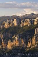 The sun gradually starts to settle in after another long day of keeping the beauty of the cliffs alive in the Gorges Du Verdon in the Provence, France.
