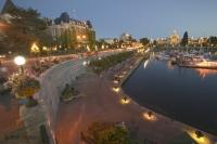 One of the secrets of Victoria in British Columbia, is its beautiful waterfront where buskers entertain visitors on balmy summer evenings.