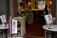 This charming cafe at the Hotel Sacher in Vienna, Austria is the ideal location for an afternoon coffee.