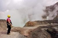 Volcano Lake Tourist White Island New Zealand