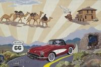 Route 66 Wall Murals