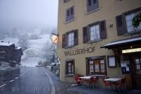 Walliserhof Restaurant Muenster Swiss Alps