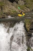 Waterfall Kayak Descent