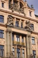 Wenceslas Square Historic Architecture Prague