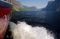 One of the best ways to see Western Brook Pond in Gros Morne National Park is by booking a tour by boat with BonTours.