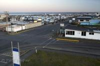 A picture of the town and marina of Westport in Washington, USA.