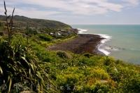 Raglan is a small town along the west coast of the Waikato region on NZ North Island where you will find the picturesque location of Whale Bay.