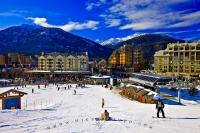Whistler 2010 Winter Olympics Venue British Columbia Canada