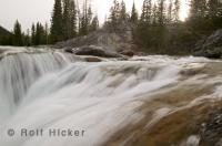 Elbow Falls are set in the wilderness of Kananaskis Country, a region which is superb for adventure travel enthusiasts.