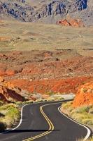 Winding Road Valley of Fire