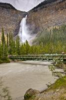 The third highest waterfall in Canada, the Takakkaw Falls is situated in Yoho National Park, British Columbia, Canada.