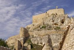 Cliff Top Castle Morella Valencia Spain