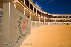 Plaza De Toros Bullfighting Arena Ronda Andalusia Spain
