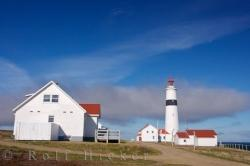 Provincial Historic Site Coastal Lighthouse Labrador