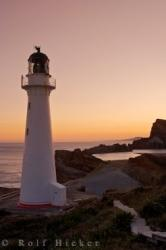 East Coast Lighthouse Sunset NZ