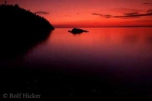 photo of Lake Superior Sunset Images