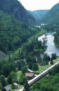 photo of Agawa Canyon Railway Ontario