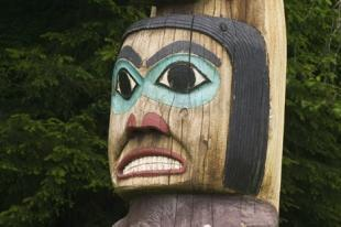 photo of Native American Symbols Coastal Totempole